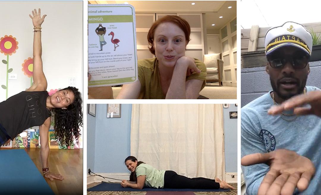 Yogis Being Flexible – Pivoting to Online Teaching