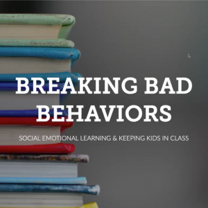 Title slide: Breaking Bad Behaviors