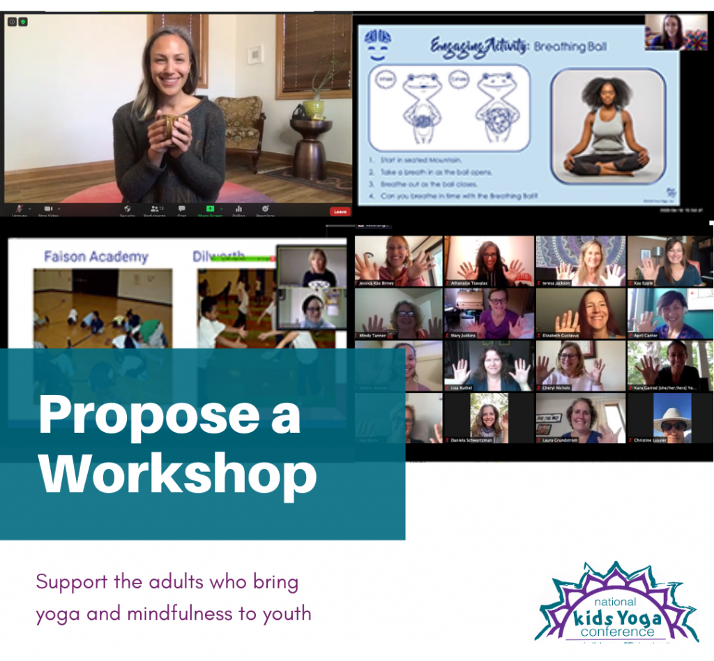 graphic about proposing workshops