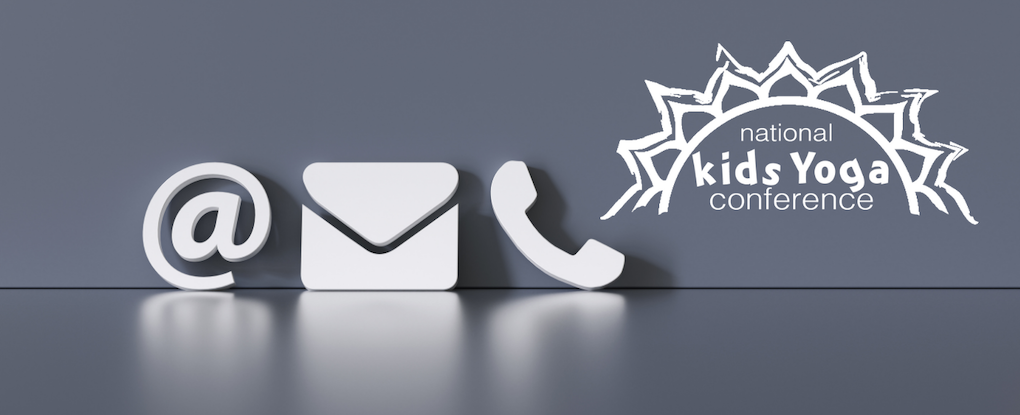 graphic with phone and email icons